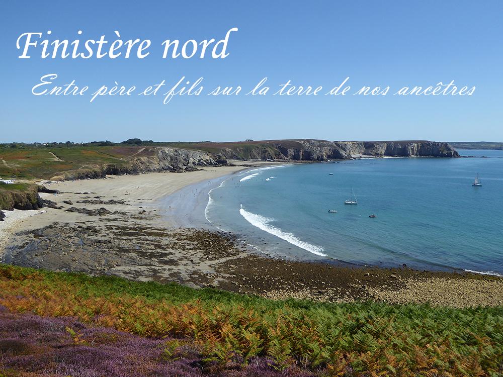 Finistère nord, randonnée entre père et fils